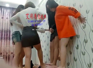 Five chinese teen girls multi seal the..