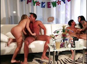 Several cock-starved babes officiate..