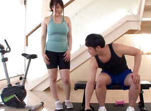 Japanese Gym Slattern Has Fat Gut Plus..