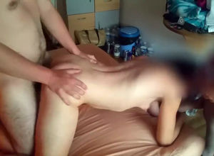 French gf humped in motel apartment..