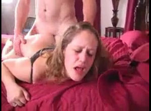 Slutwife toughly banging husband's..