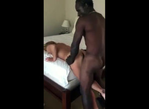 Cruel black dude banged call girl..