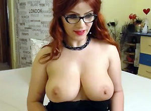 Ginger-haired sweetie damsel..